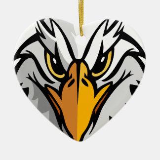 eagle head2 christmas ornament