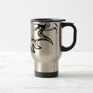 Eagle Head From Side Travel Mug