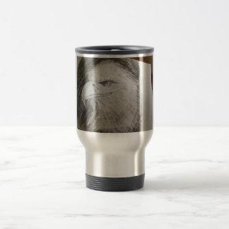Eagle Head Stainless Steel Travel Mug