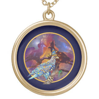 Eagle - Heavenly Wanderer № 13 Gold Plated Necklace