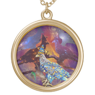Eagle - Heavenly Wanderer № 16 Gold Plated Necklace