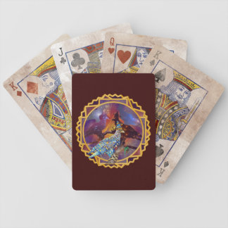 Eagle - Heavenly Wanderer № 17 Bicycle Playing Cards