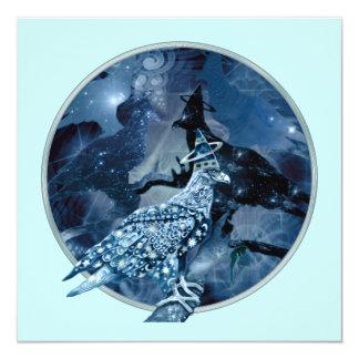 Eagle - Heavenly Wanderer №1 13 Cm X 13 Cm Square Invitation Card