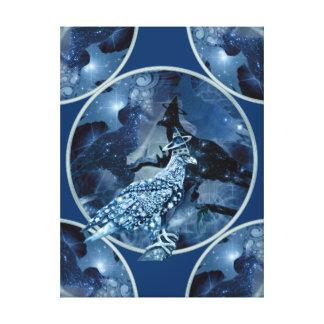 Eagle - Heavenly Wanderer № 1 Canvas Prints