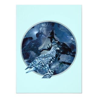 Eagle - Heavenly Wanderer №1 17 Cm X 22 Cm Invitation Card