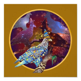 Eagle - Heavenly Wanderer № 21 13 Cm X 13 Cm Square Invitation Card