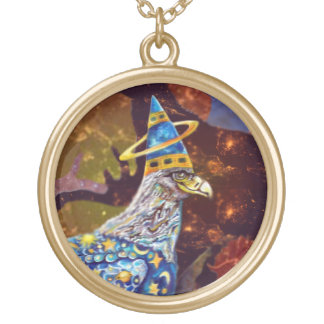 Eagle - Heavenly Wanderer № 21 Gold Plated Necklace