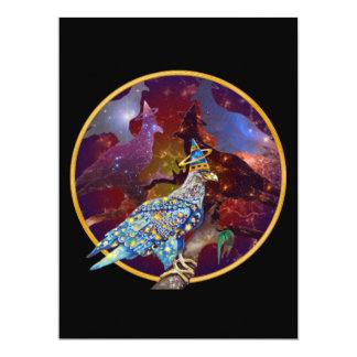 Eagle - Heavenly Wanderer № 21 17 Cm X 22 Cm Invitation Card