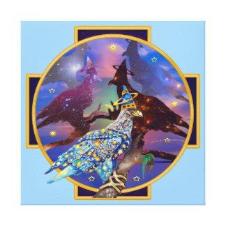 Eagle - Heavenly Wanderer № 22 Canvas Print