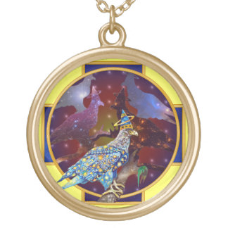 Eagle - Heavenly Wanderer № 29 Gold Plated Necklace