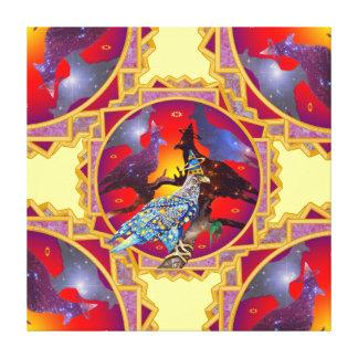 Eagle - Heavenly Wanderer № 2 Canvas Prints