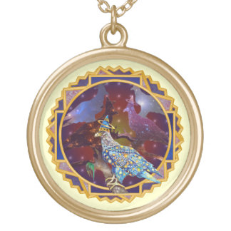 Eagle - Heavenly Wanderer № 30 Gold Plated Necklace