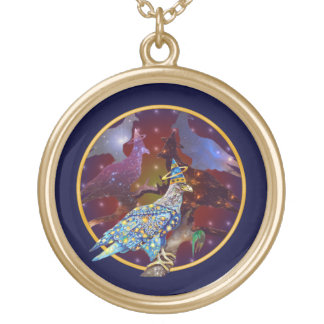 Eagle - Heavenly Wanderer № 31 Gold Plated Necklace