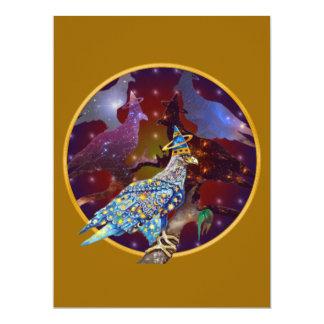 Eagle - Heavenly Wanderer № 31 17 Cm X 22 Cm Invitation Card