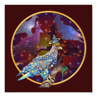 Eagle - Heavenly Wanderer № 31 13 Cm X 13 Cm Square Invitation Card