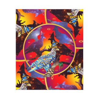 Eagle - Heavenly Wanderer № 32 Canvas Print