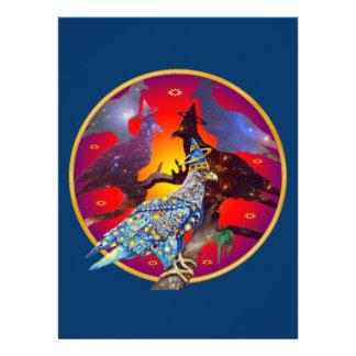 Eagle - Heavenly Wanderer № 32 Personalised Invitation