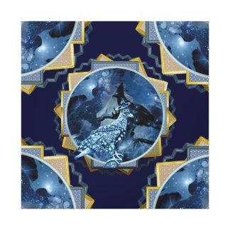 Eagle - Heavenly Wanderer № 3 Canvas Prints