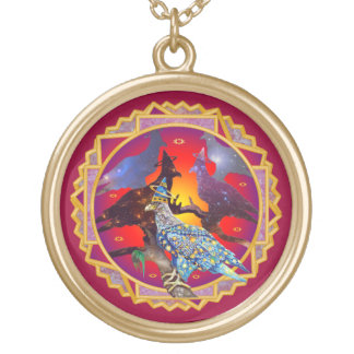 Eagle - Heavenly Wanderer № 71 Gold Plated Necklace