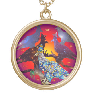 Eagle - Heavenly Wanderer № 7 Gold Plated Necklace