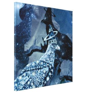 Eagle - Heavenly Wanderer № 7 Stretched Canvas Prints