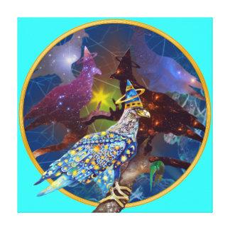 Eagle - Heavenly Wanderer № 8 Gallery Wrap Canvas