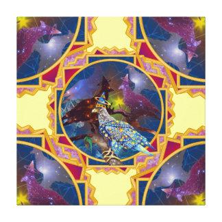 Eagle - Heavenly Wanderer № 9 Stretched Canvas Prints