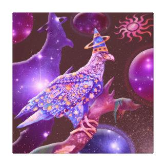 Eagle - Heavenly Wanderer Canvas Prints