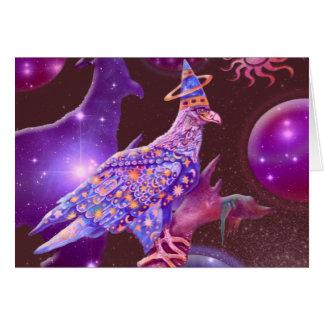Eagle - Heavenly Wanderer Greeting Card