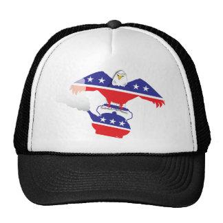 Eagle I and Teapot Trucker Hat