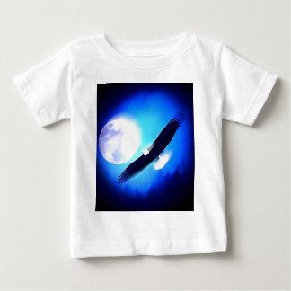 Eagle in Flight & Full Moon Tees