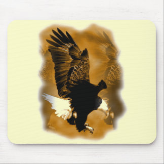 Eagle in Flight Mouse Pad