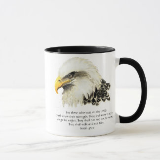 Eagle - Inspirational - Scripture - They that wait Mug