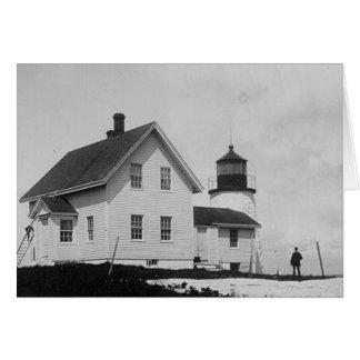 Eagle Island Lighthouse Greeting Cards