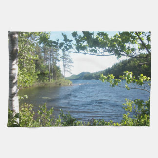 Eagle Lake, Maine, USA Tea Towel