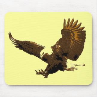 Eagle Landing Mouse Pad