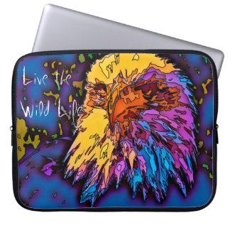 Eagle - Live the Wild Life / Laptop Sleeve