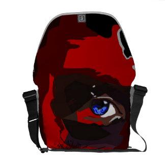 Eagle Man messenger bag