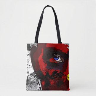 Eagle Man tote bag