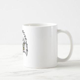 Eagle Mascot Face Coffee Mug