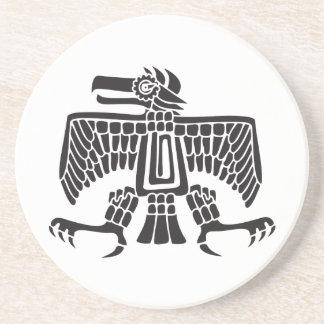 Eagle, Mexican hieroglyph(Maya) Coaster
