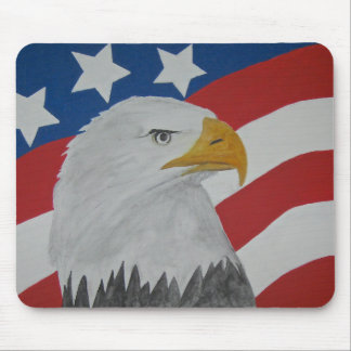 Eagle . mouse pad