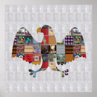 EAGLE National Bird America Pride FUN HUNT NVN531 Poster