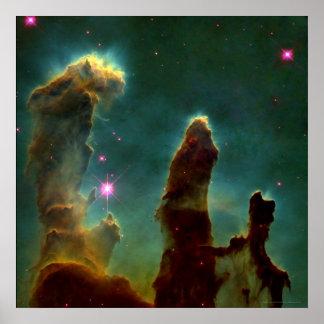 Eagle Nebula 24x24 (16x16) Poster