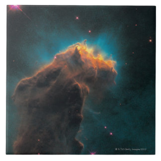 Eagle Nebula 2 Large Square Tile