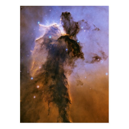 Eagle Nebula by Hubble Space Telescope Postcard