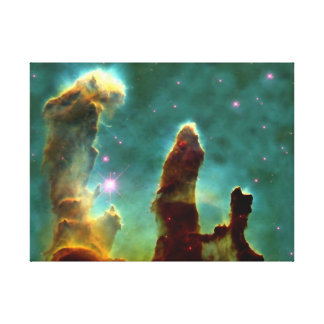 Eagle Nebula in space Canvas Print