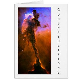 Eagle Nebula, M16 - General Congratulations Card