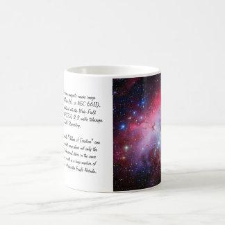 Eagle Nebula, Messier 16 - Pillars of Creation Basic White Mug