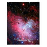 Eagle Nebula, Messier 16 - Pillars of Creation Postcard